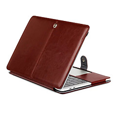 A MacBook Pro 15,4 13,3 új pro15.4 13,3 hüvelykes tábla luxus ultravékony mágneses folio állni őrült ló mintás bőr tok