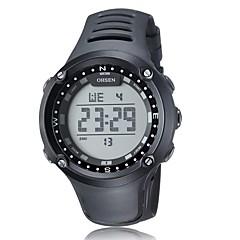 Αντρικά Γυναικεία Unisex Αθλητικό Ρολόι Ρολόι Φορέματος Διάφανο Ρολόι Μοδάτο Ρολόι Ρολόι Καρπού μηχανικό ρολόι Χαλαζίας Γνήσιο δέρμα