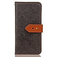 For Samsung S8 S8 Plus Wallet with Stand Magnetic Embossed Pattern Case Solid Color Hard PU Leather for Samsung S7 edge S6 edge S7 S6 S5 S4 S3