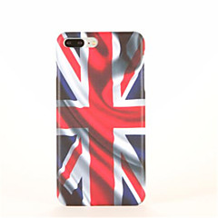Mert Minta Case Hátlap Case Zászló Kemény PC mert Apple iPhone 7 Plus iPhone 7 iPhone 6s Plus iPhone 6 Plus iPhone 6s iPhone 6