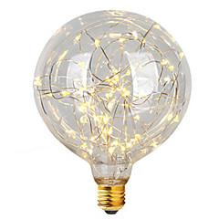 2w e26 / e27 żarówki żarówki LED g95 47 zintegrowane led 300 lm ciepły biały dekoracyjny ac 220-240 v 1 szt