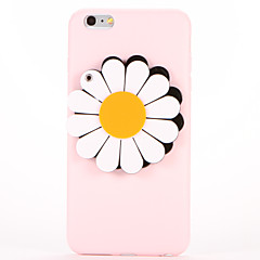 For Mirror DIY Case Back Cover Case Flower Soft TPU for Apple iPhone 7 Plus iPhone 7 iPhone 6s Plus iPhone 6 Plus iPhone 6s iPhone 6