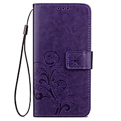 For ZTE Blade A510 L5 Plus Case Cover Card Holder Wallet with Stand Flip Embossed Pattern Full Body Case Flower Hard PU Leather for ZTE V7 Lite AXON 7