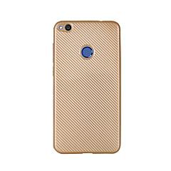 Voor Ultradun hoesje Achterkantje hoesje Effen kleur Zacht Carbonvezel voor HuaweiHuawei P8 Lite (2017) Huawei Honor 8 Huawei Honor 5C