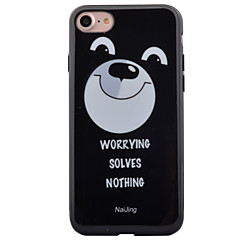 For Apple iPhone7 7 Plus 6s 6 Plus Case Cover Cartoon Pattern HD Painted IMD Process Thicker TPU Material Phone Case