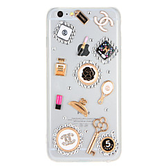 For Rhinsten Transparent Etui Bagcover Etui Sexet kvinde Hårdt PC for AppleiPhone 7 Plus iPhone 7 iPhone 6s Plus iPhone 6 Plus iPhone 6s