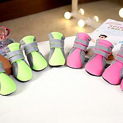 Gatos Perros Zapatos y Botas Adorable Moda Casual/Diario Deportes Amor Verde Rosa Tejido