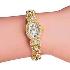 Women's Alloy Analog Quartz Bracelet Elliptic Case Watch (Assorted Colors) Cool Watches Unique Watches