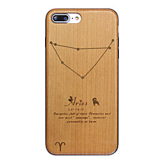Aries Sign Ultra-thin Protective Back Cover iPhone Wood Case FOR iPhone7 7 Plus iPhone6s 6Plus SE 5s
