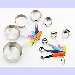 Measuring Cups & Spoon For Cake For Chocolate For Bread Stainless Steel DIY