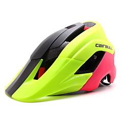 CAIRBULL 여성용 남성용 남여 공용 자전거 헬멧 15 통풍구 싸이클링 사이클링 산악 사이클링 도로 사이클링 레크리에이션 사이클링 PC EPS 그린 레드 블랙 블루