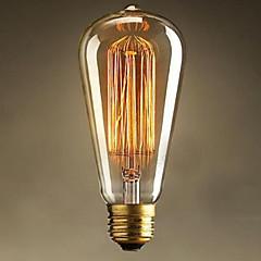 st64 e27 25w Edison φως deco τέχνης (220v)