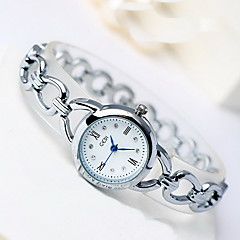 Women's Skeleton Watch Fashion Watch Japanese Quartz Water Resistant / Water Proof Alloy Band Cool Casual Silver