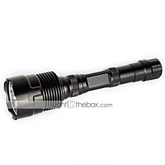 U'King CREE XML T6 3*LEDs 6000LM 5Modes Long Flashlight Torch