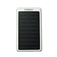 10led 8000mah 5v2a bancă de putere cu încărcare solară pentru telefonul mobil