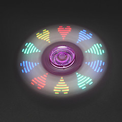 Fidget spinner -stressilelu hand Spinner Lelut Tri-Spinner LED Spinner EDC Stressiä ja ahdistusta Relief Office Desk Lelut Killing Time