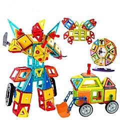 Costruzioni Gioco educativo Blocchi magnetici per il regalo Costruzioni Giochi da tavolo e puzzle Circolare Quadrata Triangolo