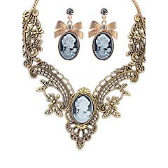 Γυναικεία Για Ζευγάρια Κρεμαστά Κολιέ Κολάρα Κολιέ Δήλωση Κοσμήματα Κοσμήματα ΚράμαΒασικό Μοναδικό Κρεμαστό Στρας Λουλούδια Φύση Φιλία