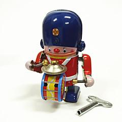 Vedettävä lelu Robotti Metalli Lasten