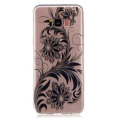 Για Θήκες Καλύμματα Διαφανής Με σχέδια Πίσω Κάλυμμα tok Σχέδιο δαντέλα Λουλούδι Μαλακή TPU για Samsung S8 S8 Plus S7 edge S7 S6 edge S6 S5