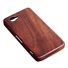 Cornmi για sony xperia z1mini d5503 z1 συμπαγές z1min ξύλο καρυδιά ξύλο ξύλου καρυδιά ξύλο σκληρό ξύλινο πίσω κέλυφος κέλυφος