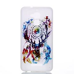 A zenfone 3 max ze552kl ze520kl TPU anyag az új szarvas dreamcatcher minta világító telefon esetében