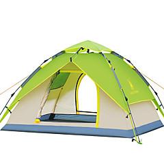 3-4 személy Sátor Dupla kemping sátor Automatikus sátor Vízálló Szélbiztos Ultraibolya biztos Összecsukható mert Túrázás Kemping CM Egy