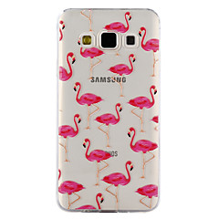 For samsung galaxy a3 a5 (2017) pokrowiec na obudowy flamingo wzór kropel lakieru wysoka jakość tpu materiał obudowa telefonu a3 a5