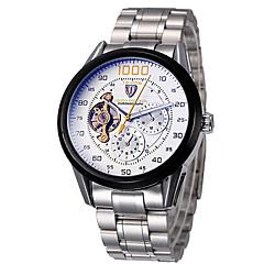 Tevise Αντρικά Για Ζευγάρια Αθλητικό Ρολόι Ρολόι Φορέματος Μοδάτο Ρολόι μηχανικό ρολόι ΧαλαζίαςΗμερολόγιο Ανθεκτικό στο Νερό Εσωτερικού