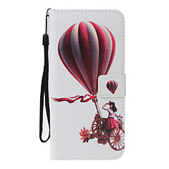 For Case Cover Card Holder Wallet with Stand Flip Pattern Full Body Case Balloon Hard PU Leather for Apple iPhone 7 Plus 7 6s 6Plus 5S 5SE