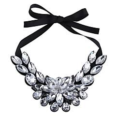 Women's Strands Necklaces Chrome Unique Design Euramerican Fashion Personalized Black White Jewelry For Wedding Party Congratulations 1pc