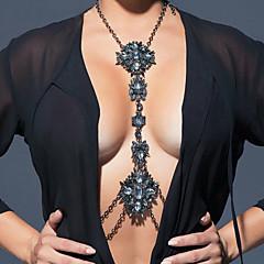 Női Testékszer Deréklánc Body Lánc / Belly Chain Csípőig érő nyaklánc Divat Bohemia stílus Hip-Hop Kézzel készített Szivárvány Török