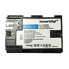 ismartdigi lpe6n kamera akkumulátor Canon EOS 90D 80D 70D 60D 5D4 5D3 5d2 5d 7d