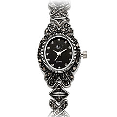 ASJ Women's Fashion Watch Bracelet Watch Japanese Quartz Japanese Quartz Water Resistant / Water Proof Shock Resistant Imitation Diamond