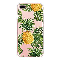Για κάλυψη περίπτωση εξαιρετικά λεπτό πίσω κάλυμμα περίπτωση φρούτα μαλακό tpu για iphone 7 plus iphone 7 6s 6 plus 6s 6 se 5s 5