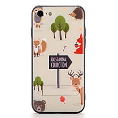 Til Apple iPhone 7 7plus cover med stativ mønster bagcover case cartoon hard pc 6s plus 6 plus 6s 6