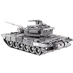 Puzzles 3D - Puzzle Bausteine Spielzeug zum Selbermachen Panzer Metall Model & Building Toy