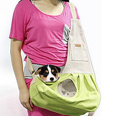 Cat Dog Carrier & Travel Backpack Front Backpack Dog Pack Pet Carrier Portable Double-Sided Breathable Foldable Soft SolidBlushing Pink