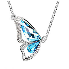 Women's Pendant Necklaces Jewelry Jewelry Crystal Alloy Fashion Euramerican Jewelry For Wedding Party Congratulations