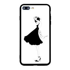 For iPhone 7 Plus 7 Case Cover Pattern Back Cover Case Sexy Lady Cartoon Soft Shell for iPhone 6s Plus 6 Plus 6s 6 5s 5 SE