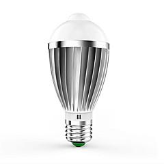 7W E26/E27 LED Smart Bulbs G60 14 SMD 5630 650 lm Warm White Cool White Infrared Sensor Sensor Decorative AC85-265 V 1 pcs