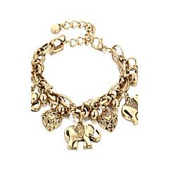 Kadın Ayak bileziği/Bilezikler alaşım Doğa Arkadaşlık Bohemia Stili Mücevher Için Günlük 1pc
