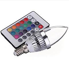 3W LED 스마트 전구 1 통합 LED 150 lm RGB V 1개