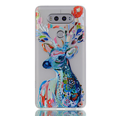 For LG G6 V20 Glow in the Dark / Translucent Case Back Cover Case Deer Soft TPU LG X Screen K5 K7 K8 K10 G5