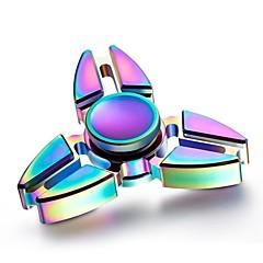 Fidget spinners Hand Spinner Draaitol Speeltjes Speeltjes Ring Spinner Metaal EDCStress en angst Relief Focus Toy Kantoor Bureau