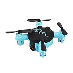 Drón FQ777 FQ04 4 Csatorna 6 Tengelyes A 0.3MP HD kamera LED Világítás Headless Mode KamerávalRC Quadcopter Távirányító Fényképezőgép USB