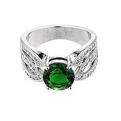 Σκουλαρίκια δαχτυλίδι των γυναικών μοναδικό σχεδιασμό euramerican μόδα ζιργκόν σμαραγδένιο κόσμημα κοσμήματα κράματος 147 γάμος ειδική