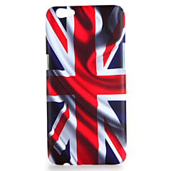 Voor oppo r9s r9s plus case cover patroon back cover case vlag harde pc r9 r9 plus