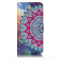 Voor Samsung Galaxy S8 Plus S8 Case Cover Kaarthouder Portemonnee Reliëfpatroon Full Body Case Mandala Hard Pu Leer voor S7 Rand S7 S6
