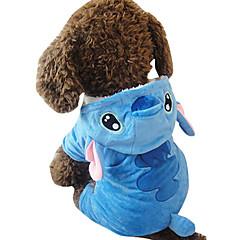 Koira Asut Koiran vaatteet Cosplay Eläin Sininen